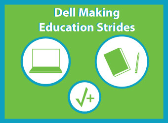 Dell's educational strides