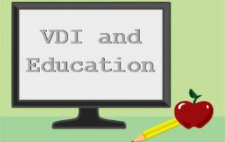 VDI in education